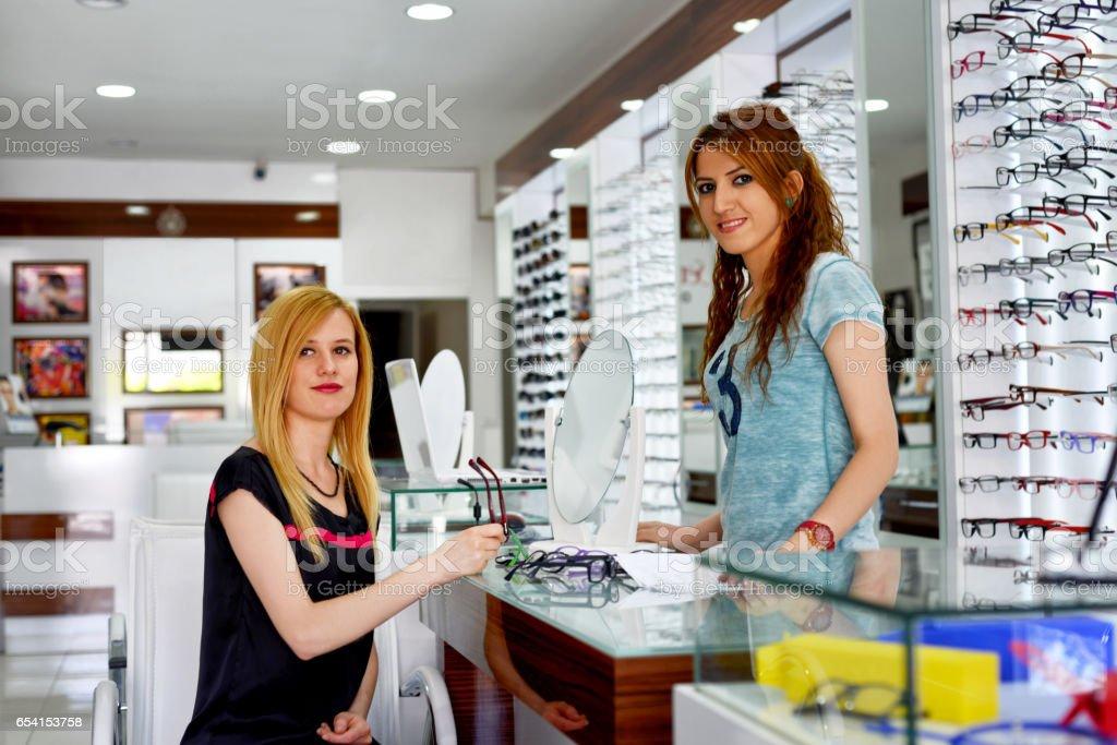 optician stock photo