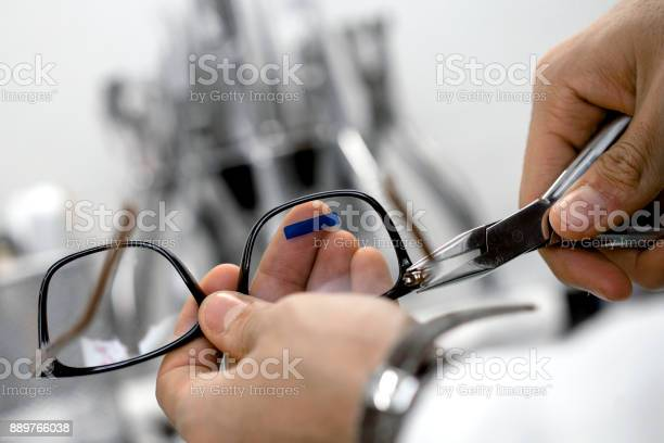 Optician repairing eye glasses picture id889766038?b=1&k=6&m=889766038&s=612x612&h=a76i5hy0aid00ib1r4cc om9ixo w5l tu6kvj7ic4m=
