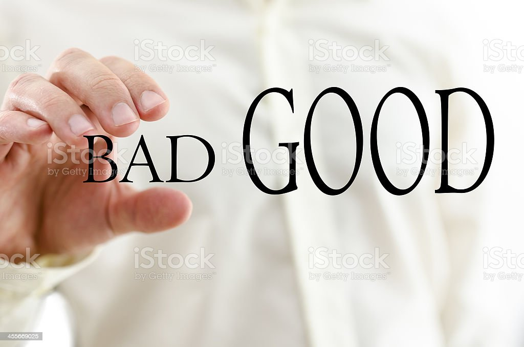 Optimism concept stock photo