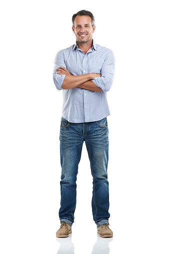 Full length portrait of a handsome man standing with his arms folded against a white backgroundhttp://195.154.178.81/DATA/istock_collage/a3/shoots/785221.jpg