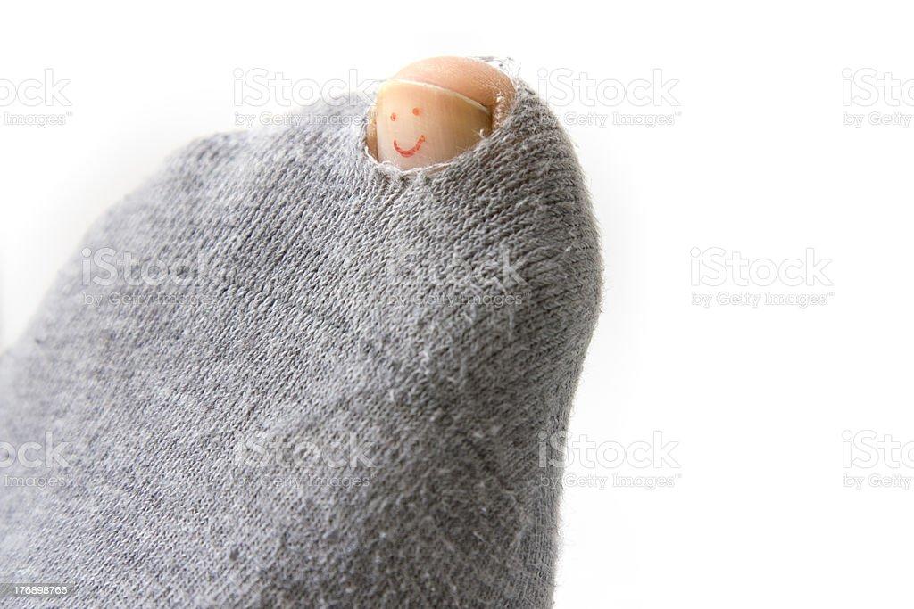 Optimistic Sock stock photo