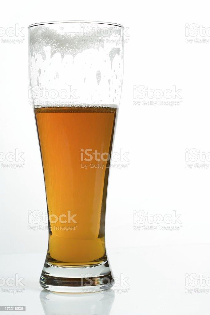 Optimist's Beer royalty-free stock photo