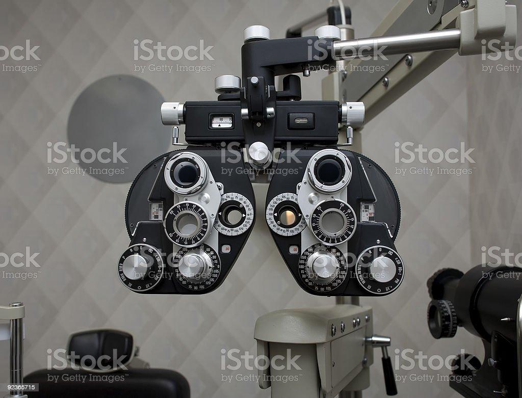 Optometry Equipment royalty-free stock photo