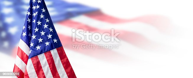 istock USA or American flag background with copy space 965692014