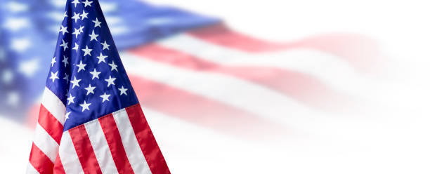 usa or american flag background with copy space - american flag background stock pictures, royalty-free photos & images