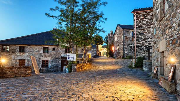 O Cebreiro, Spain. stock photo
