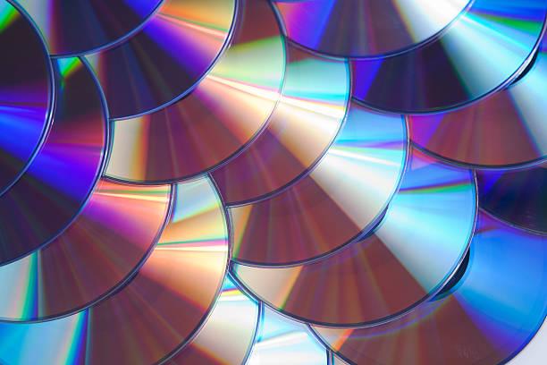 CD oder DVD-Scheiben. – Foto