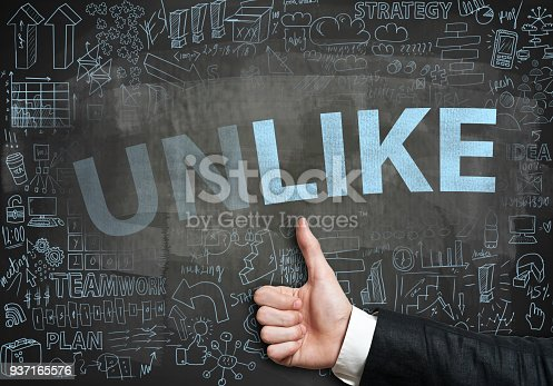 istock LIKE or UNLIKE / Blackboard concept (Click for more) 937165576