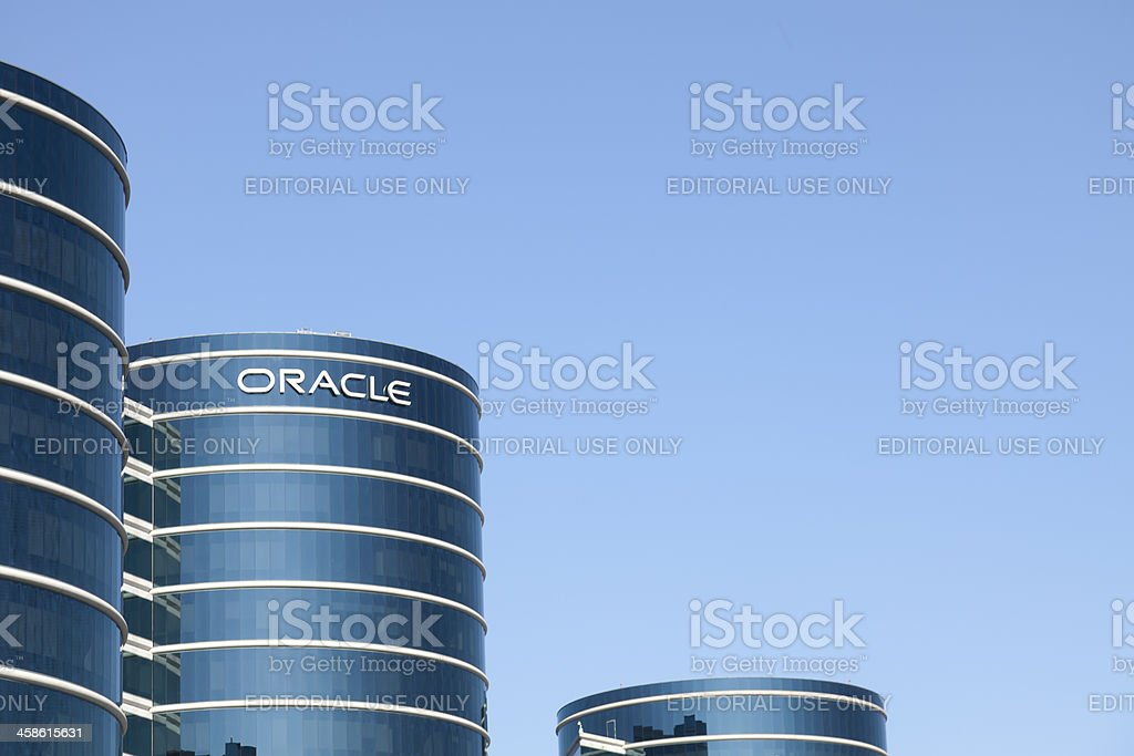 Oracle Corporation Redwood Shores stock photo