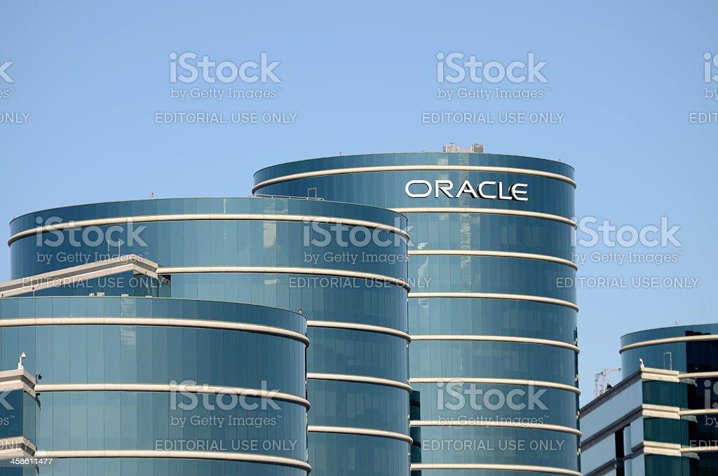 Oracle headquarters stock photo