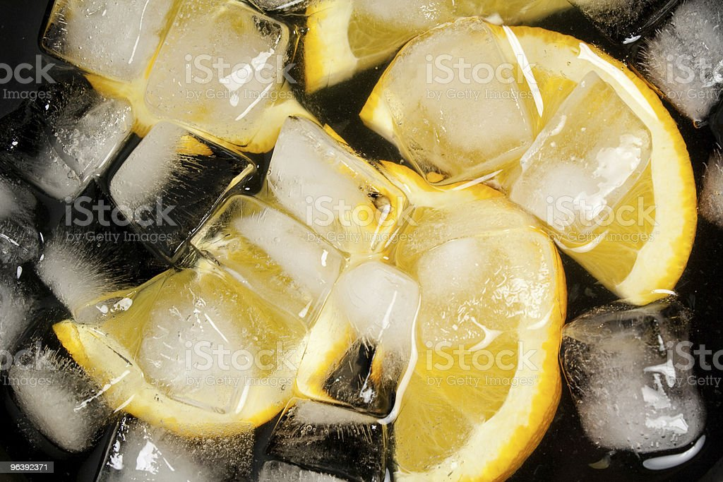Orages in a bowl of ice - Royalty-free Bright Stock Photo