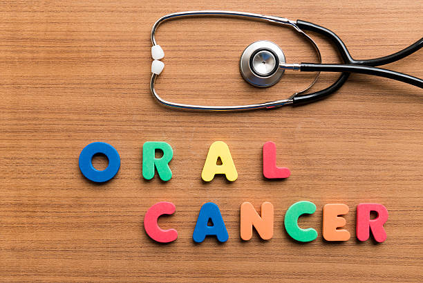 oral cancer stock photo