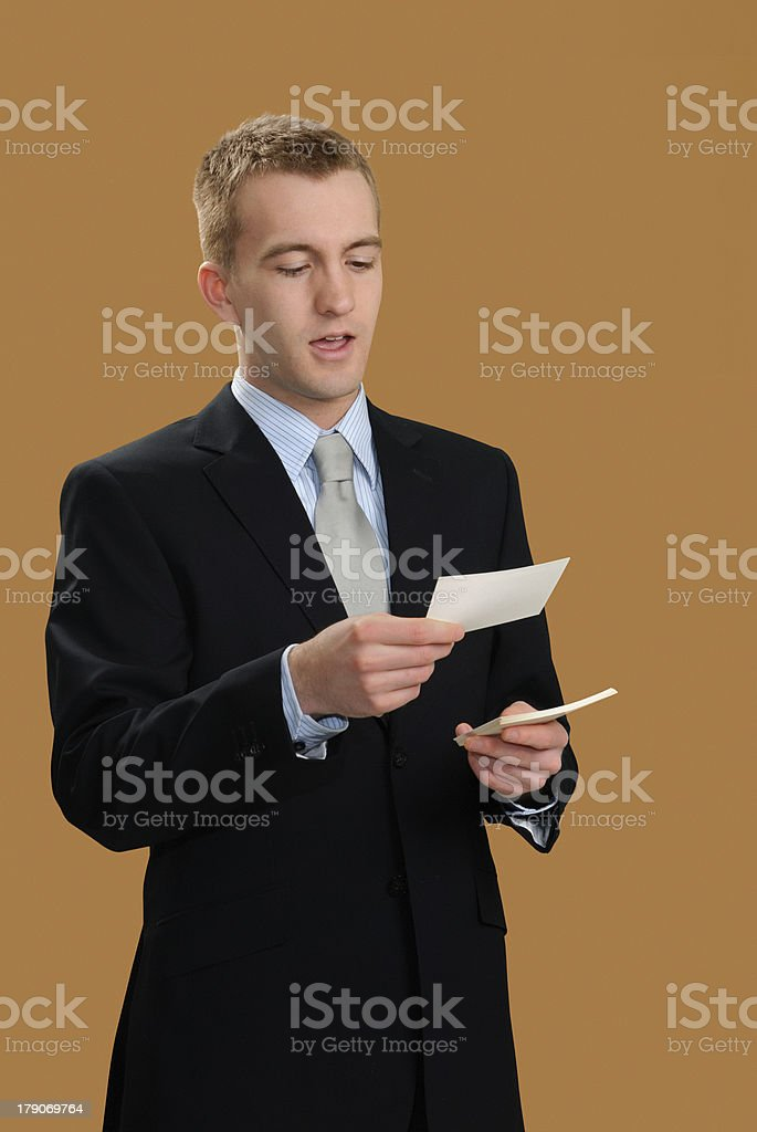 Oral Presentation stock photo