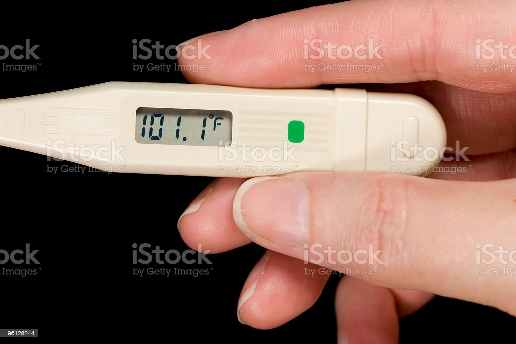 Oral Thermometer Reading 87