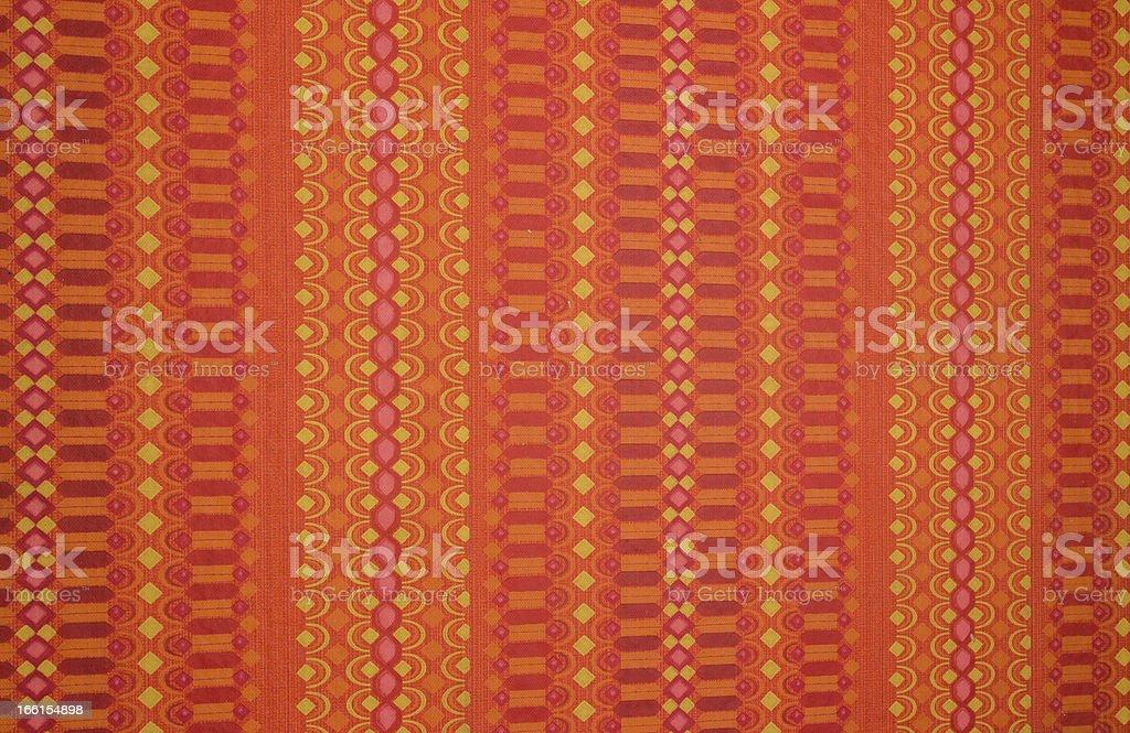 Orang red wall stock photo