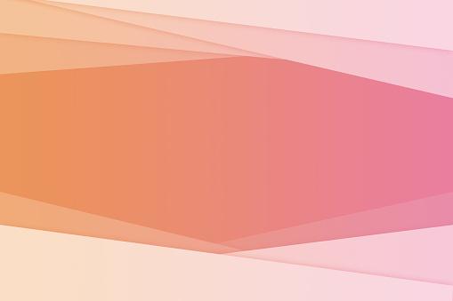 istock Orange Abstract Line background 687162306