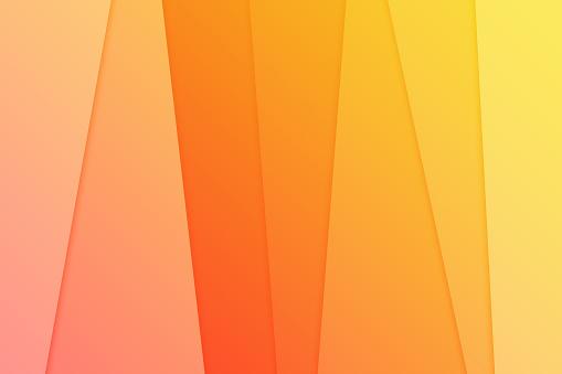 istock Orange Abstract Line background 687162362
