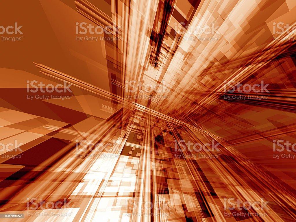 Orange action technology royalty-free stock photo
