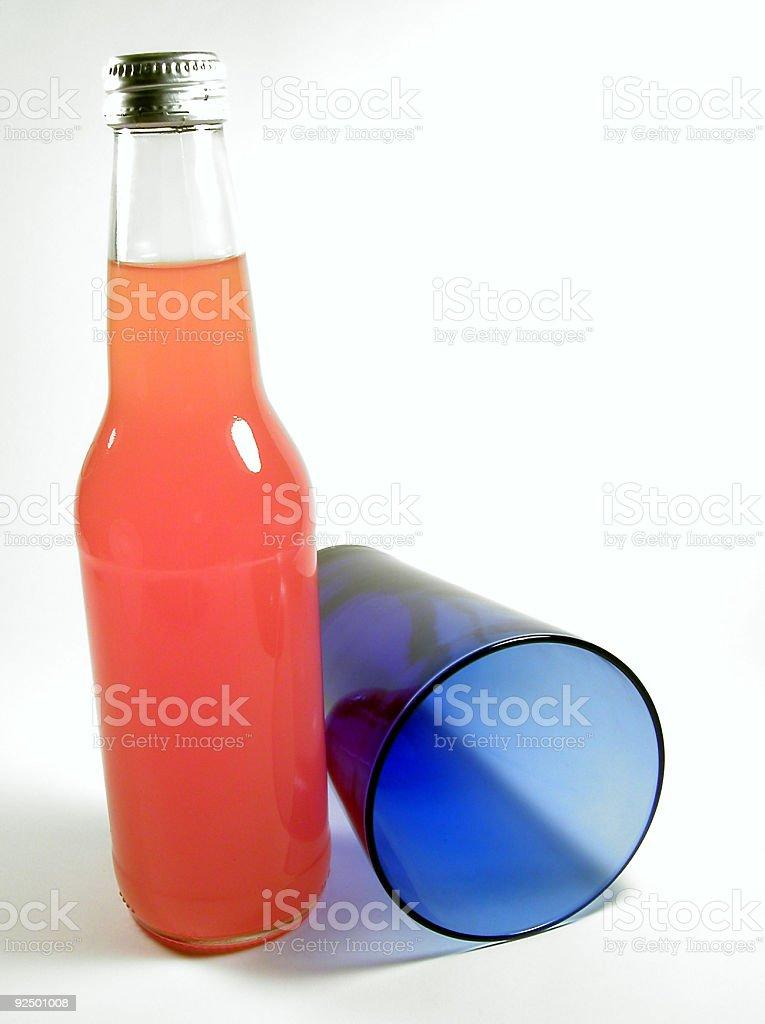 Orange and Blue 1 royalty-free stock photo