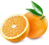 オレンジと 30 分のフルーツ。