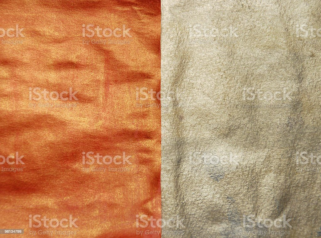 orange and silver royalty-free stock photo
