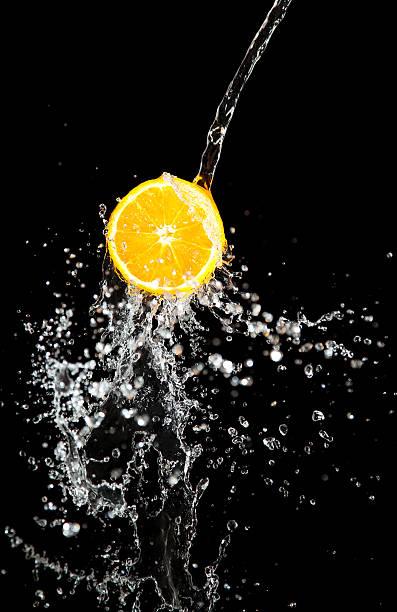 orange und Wasser Akzenten – Foto