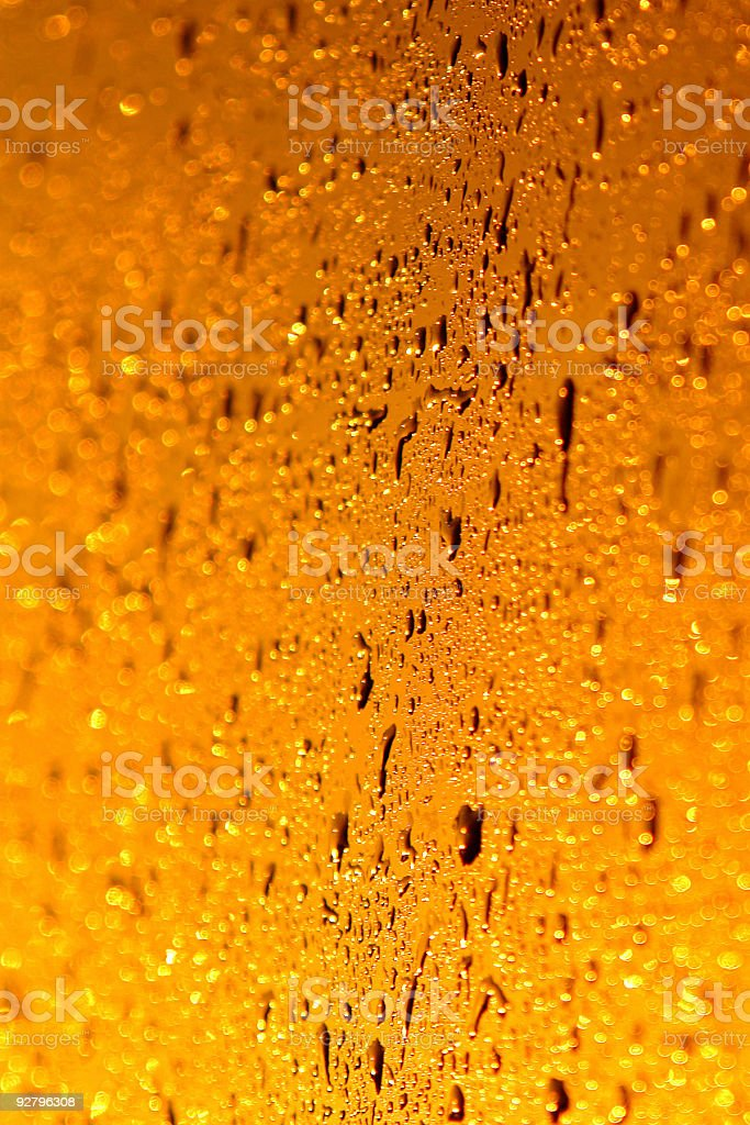 orange and yellow abstract water royalty-free stock photo