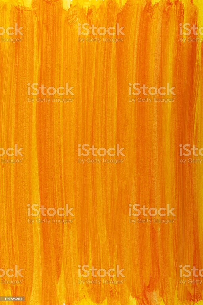 orange and yellow watercolor background royalty-free stock photo