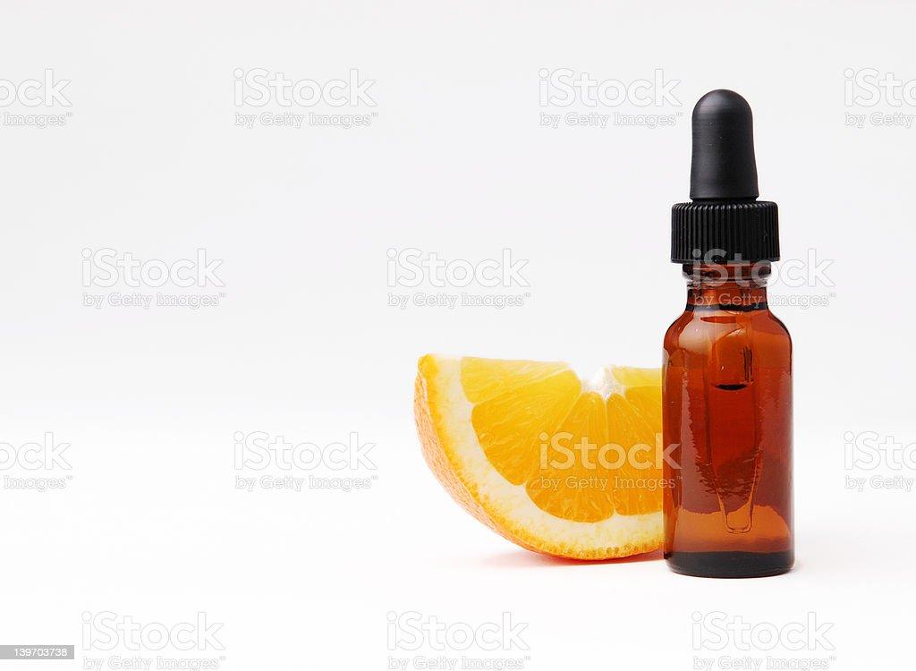 Orange Aromatherapy stock photo
