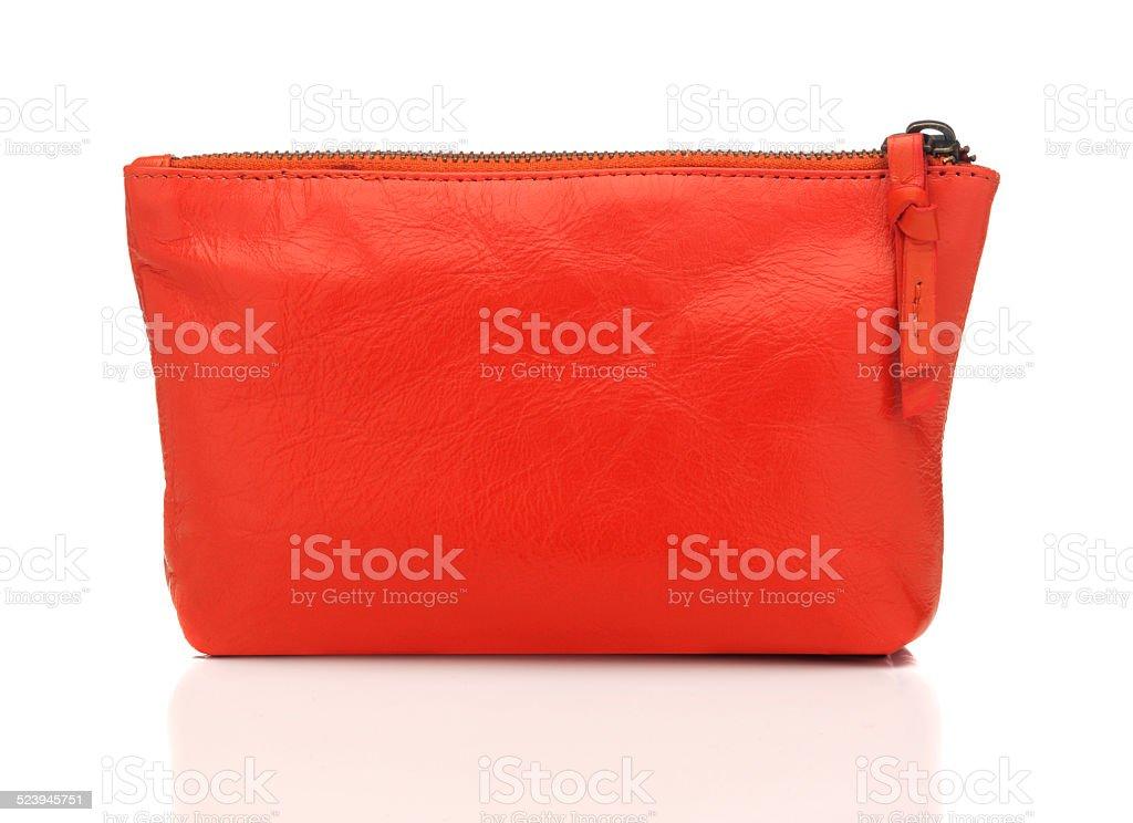 Orange Bag stock photo