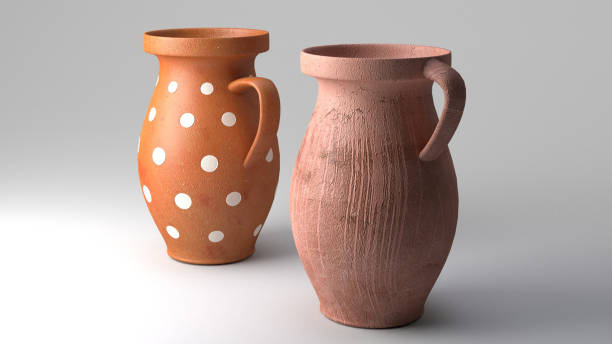 Best Clay Water Jug Backgrounds Stock Photos, Pictures