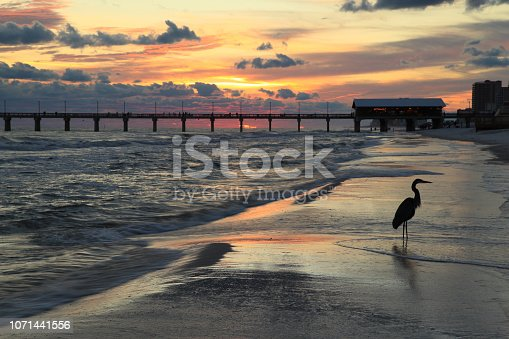 Beach and Pier, Orange Beach, Alabama