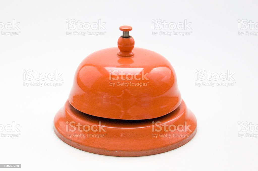 orange bell royalty-free stock photo