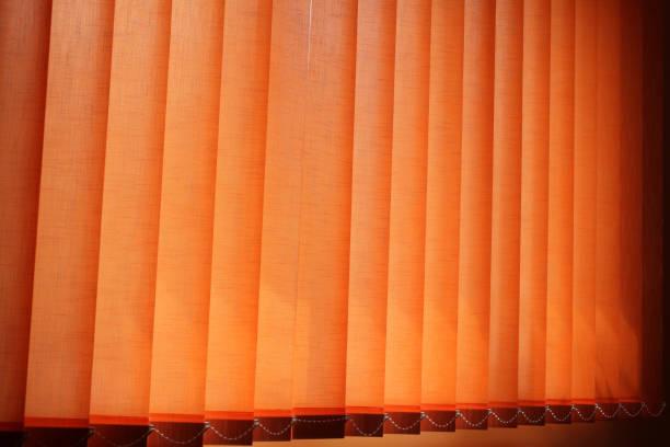 Orangenblinds – Foto