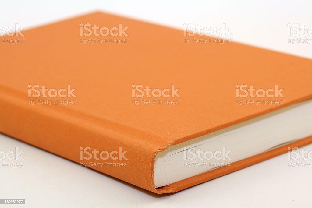 Orange Book stock photo