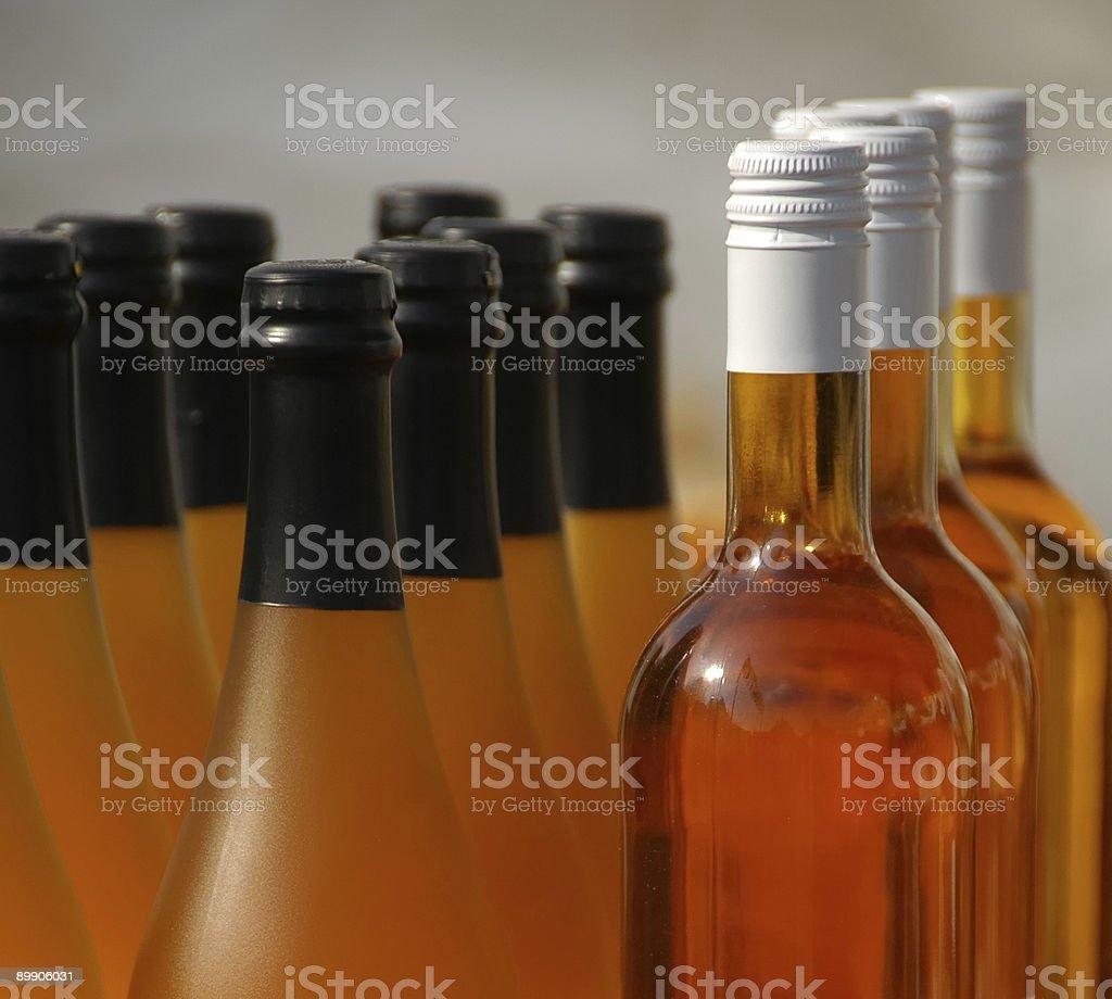 Frascos de Orange foto de stock libre de derechos