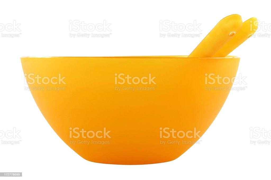 Orange bowl royalty-free stock photo