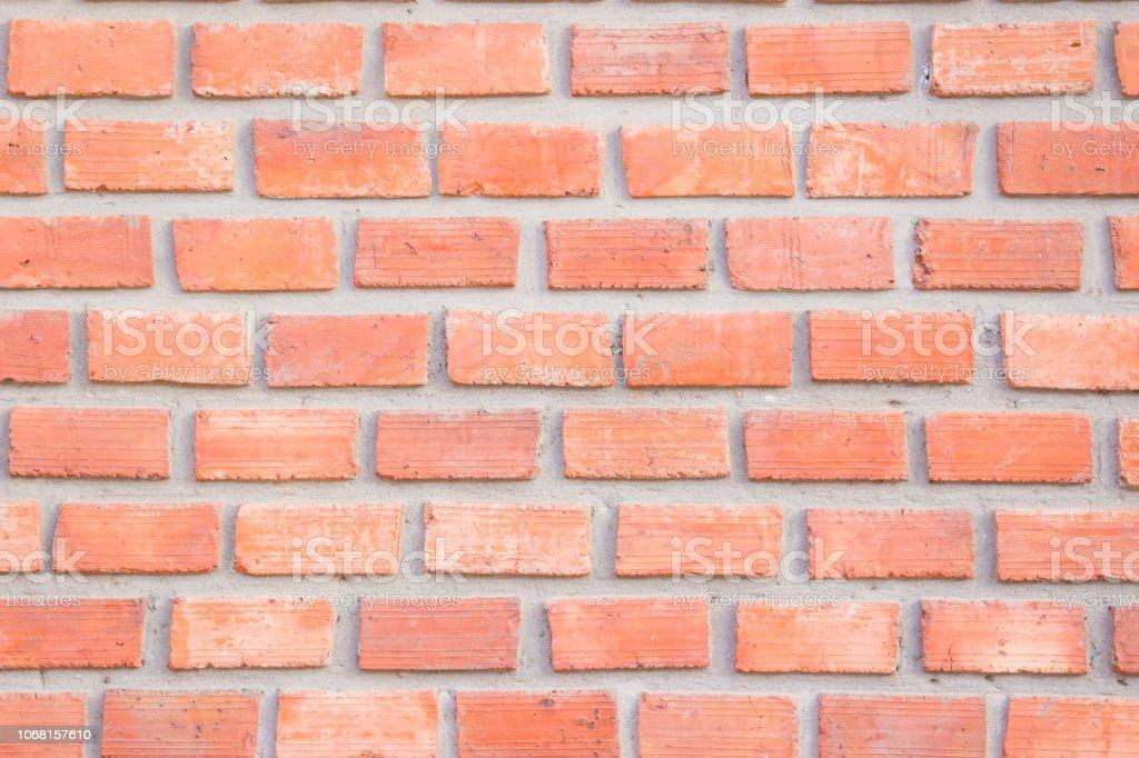 Orange Brick Wall Texture Background Brickwork Or Stonework