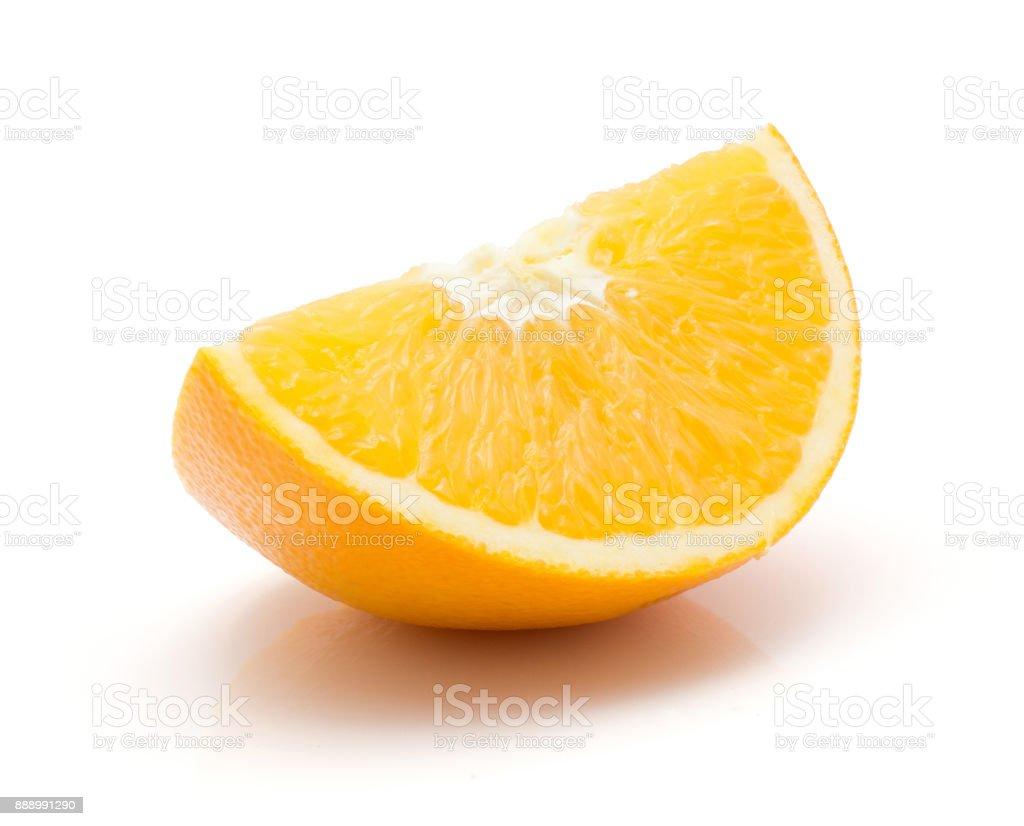 Orange, castellana isolated stock photo