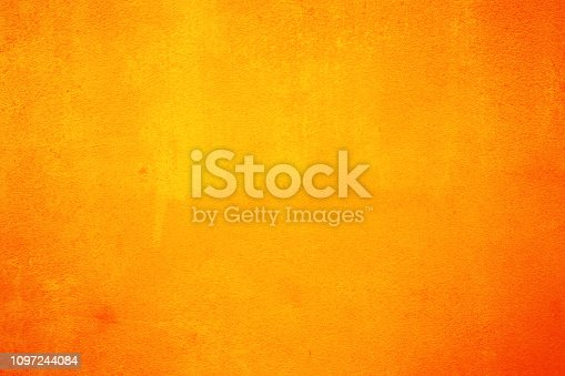 Orange cement background