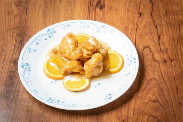 portakal tavuk Çin gıda stok fotoğrafı