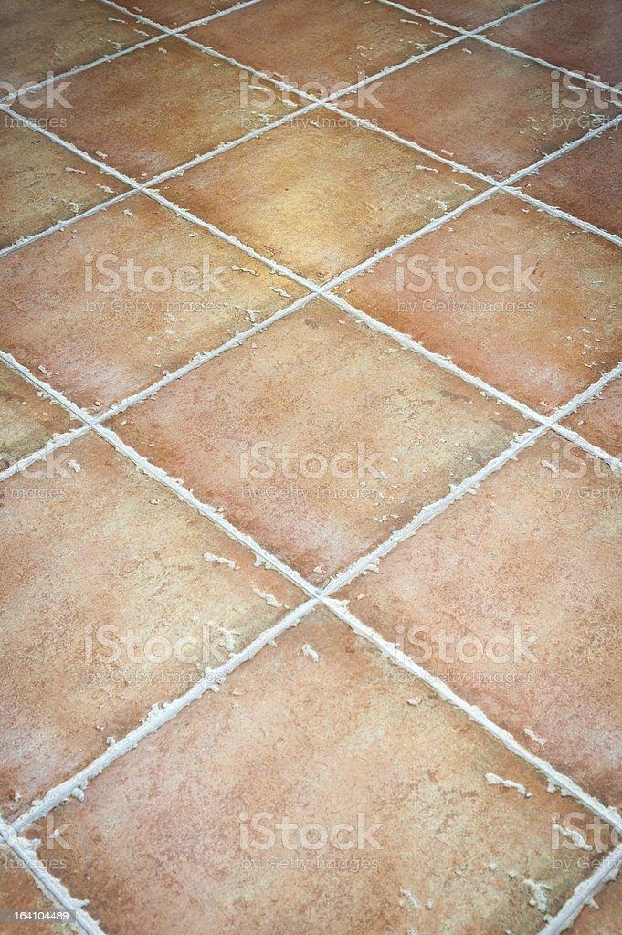 orange clay tile royalty-free stock photo