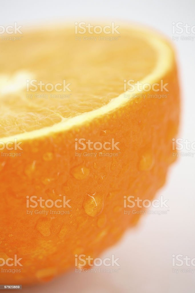 Orange closeup royalty-free stock photo