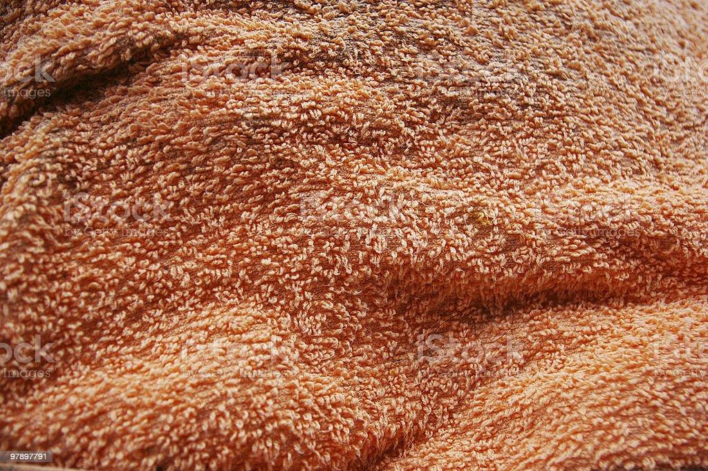 orange cloth texture royalty-free stock photo