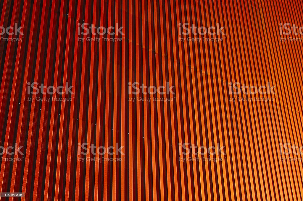 Orange corrugations royalty-free stock photo