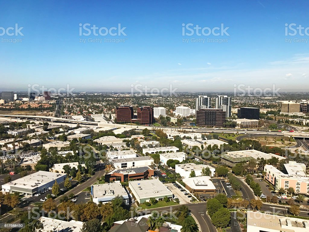 Orange County Aerial stock photo
