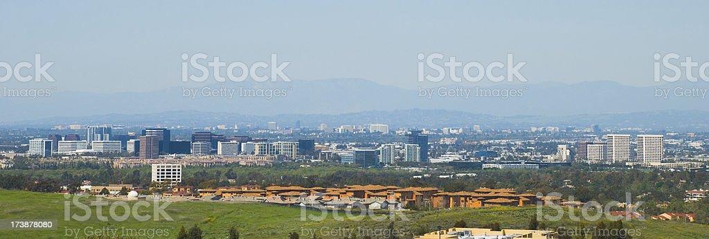Orange County city skylines view royalty-free stock photo