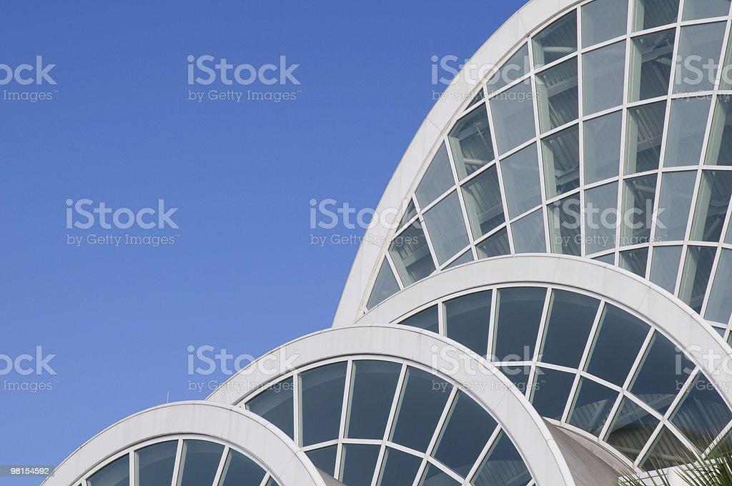 Orange County Convention Center Orlando Florida royalty-free stock photo