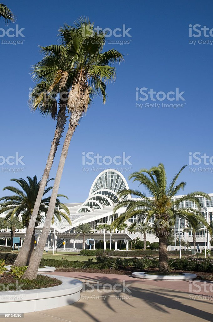 Orange County Convention Center Orlando Florida royalty-free stock photo