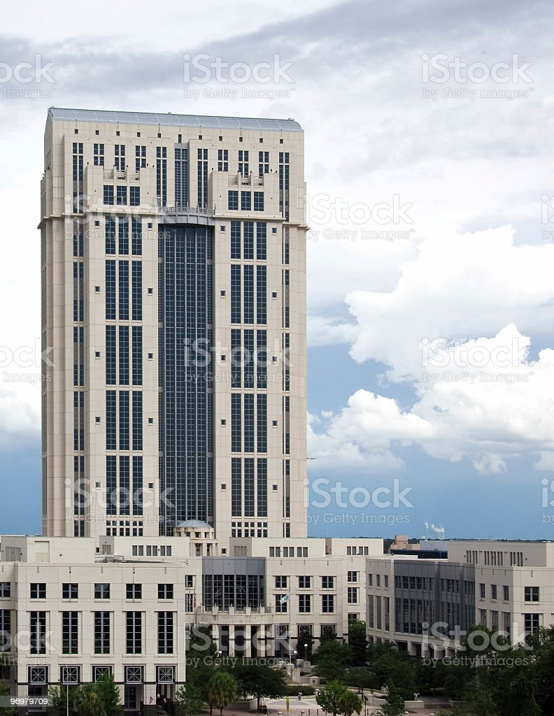 Orange County Florida Courthouse royalty-free stock photo